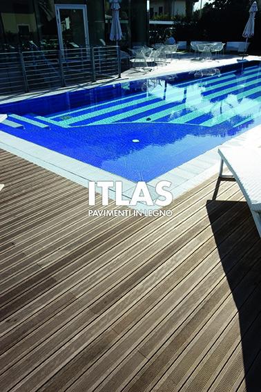 Pavimenti in legno per esterni ITLAS