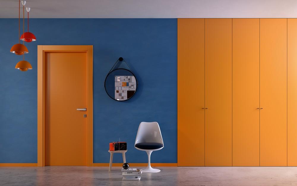 Porte interne colorate Gidea